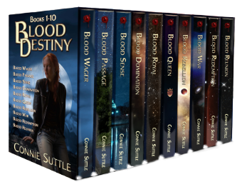 Vampire series for adults.