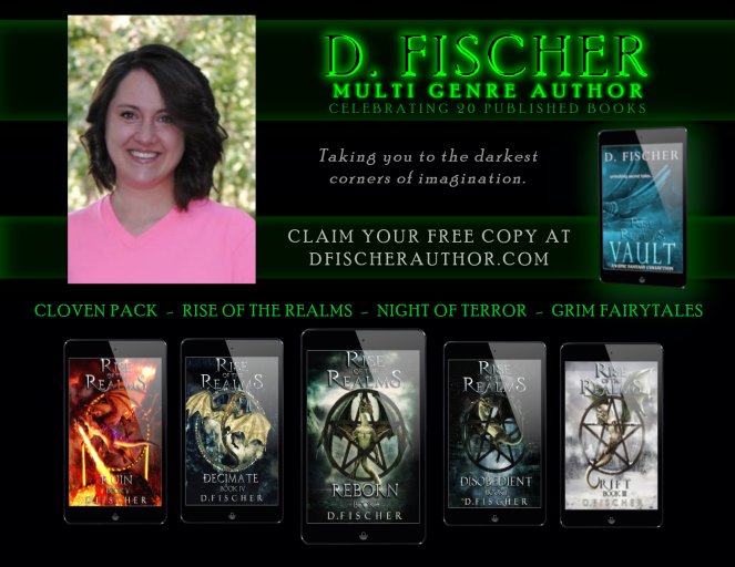 female fantasy author, epic fantasy, horror, free book, paranormal romance
