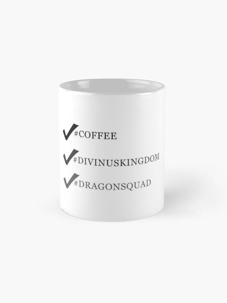 Divinus Kingdom Coffee Mug, D. Fischer Author